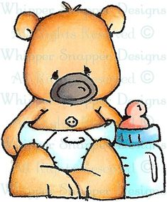 Baby Dewy - Baby Images - Baby - Rubber Stamps - Shop