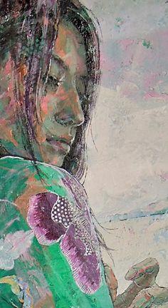 Yorikakarazuni  (2011. Oil on canvas F30)