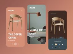 Muuto Mobile Interaction designed by Nicholas.design for Geex Arts. Connect with them on Dribbble; Web Design, Best Ui Design, App Ui Design, Mobile App Design, Interface Design, Layout Design, Mobile Ui, Web Banner Design, Web Layout