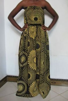 African print Clothing  African print maxi by KwanzaInspiration