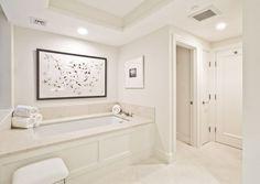 chic all white boston abode via leigh clair