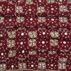 Traditional Vintage Dupatta Long Indian Clothing  by VintageHaat