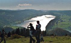 Lac de Joux view from Dent de Vaulion