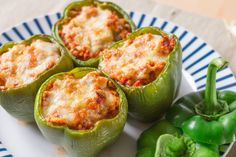 Stuff yourself silly with these Low Carb Stuffed Bell Peppers.