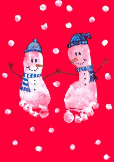 1000+ images about Christmas Artworks - Early Years on Pinterest | Holiday crafts, Footprint and ...