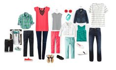 how to coordinate for family photo session