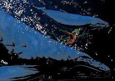 Aquaman by David Pozzo