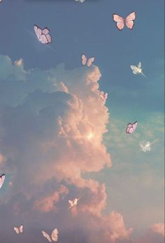 Butterfly Wallpaper Iphone, Iphone Wallpaper Images, Iphone Wallpaper Tumblr Aesthetic, Iphone Background Wallpaper, Aesthetic Pastel Wallpaper, Aesthetic Backgrounds, Aesthetic Wallpapers, Wallpaper Quotes, Emoji Wallpaper
