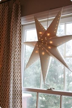 Diy paper star pendant lanterns by sarahx
