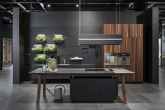 U shaped kitchen İdeas the most efficient design examples of your dream kitchen 2019 8 Luxury Kitchen Design, Kitchen Style, Kitchen Cabinet Design, Kitchen Room Design, Contemporary Kitchen, Modern Interior Design, Kitchen Pantry Design, Interior Design Kitchen Small, Interior Design Kitchen