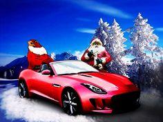 Jaguar F-Type Santa's Secret Sleigh Revealed