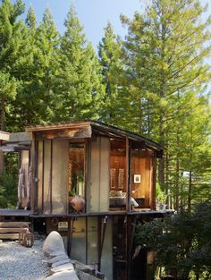 A midcentury tree house in Mill Valley, Marin County