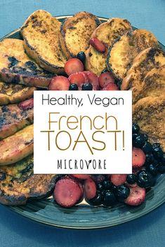 Healthy Vegan French Toast