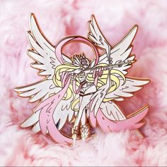 Cool Pins, Digimon, The Magicians, Chibi, Plating, Butterfly, Brooch, Cute, Cards