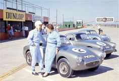 1961 .. Sebring 4Hr (Support race to the 12hr) .. No.1 driven by Pat Moss , finished 7th o/a .. No.2 (PMO 200) driven by Stirling Moss , finished 5th o/a .