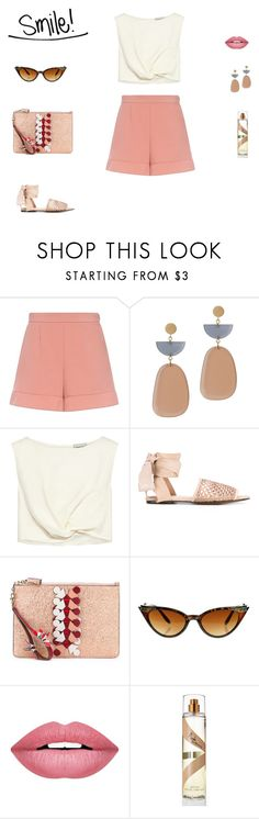 """Smile!"" by mariagraziatrotta ❤ liked on Polyvore featuring RED Valentino, Isabel Marant, Rachel Comey, Castañer, Anya Hindmarch, ZeroUV and Forever 21"