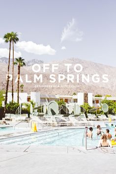 Living in LA this is where we go for a weekend getaway... girls weekends...whatever! Love it even when it's 110'
