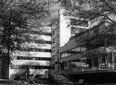 Machnáč Sanatorium, Jaromír Krejcar, Trenčianske Teplice, Czechoslovakia 1930-32 International Style, Architecture Old, Eastern Europe, Prague, Contemporary, Modern, Cities, Abstract, Artwork