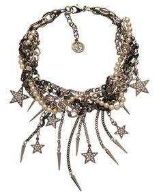 Ben-Amun Star Cluster Necklace #star