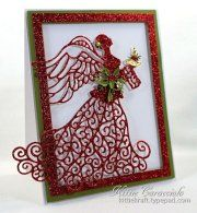 Festive Collection - Christmas Angel CED3001 - Sue Wilson, CropStop