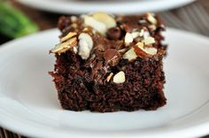 Chocolate Zucchini Cake with Brown Sugar Streusel | 33 Delicious Ways To Use Up Your Summer Vegetables