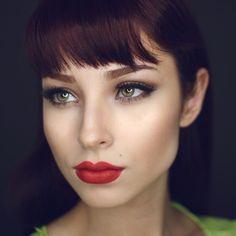 """WEBSTA @ lupescuevas - """"Frenchie"""" LipLiner @colourpopcosmetics """"Bloodline""""…"""
