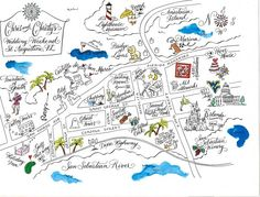 christy alligood map of st augustine