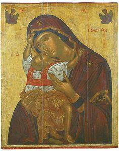 Kardiotissa  Painted by the Cretan artist Angelos Akotantos.
