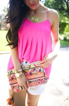 Summery Hot Pink (via Bloglovin.com )