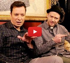 """""""#Hashtag"""" with Jimmy Fallon & Justin Timberlake - OMG. This is awesome. Jimmy Fallon and Justin Timberlake get hilariously real about the use of hashtags. Hahaha."""