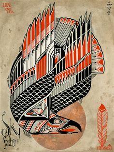 Sky Father print - David Hale