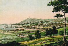 Hobart Town, 1821