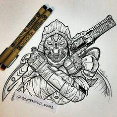 Hunter from Destiny tattoo commission Dead Orbit gunslinger Destiny Tattoo, Destiny Gif, Destiny Comic, Magic Tattoo, Destiny Hunter, Dead Orbit, Light Of Life, Deviantart, Geek Out