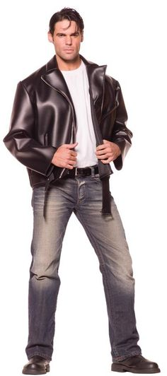 Adult Greaser Jacket 50s Costume Grease Costumes - Mr. Costumes More  sc 1 st  Pinterest & Men 50s costume ideas | I M A PARTIER. | Pinterest | Costumes ...