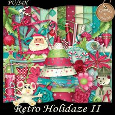 Retro Holidaze II Scrap Kit - PU/S4H