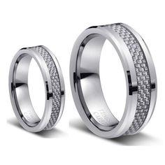 Hey, I found this really awesome Etsy listing at https://www.etsy.com/listing/199423537/tungsten-wedding-bandwedding-band-set