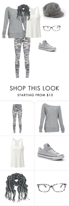 """Lazy Day Gray"" by tracy-kerr on Polyvore featuring True Religion, Alloy Apparel, Converse, Marc Jacobs and Newport News"