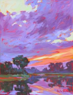 Learn how to create broken color effects in this pastel tutorial from Robert Carsten, a featured artist in the Oct 2011 issue of Pastel Journal. Landscape Art, Landscape Paintings, Landscapes, Oil Pastel Art, Colorful Paintings, Classic Paintings, Contemporary Abstract Art, Arte Pop, Art Drawings