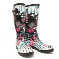 0ff93fd19a0 9 Best Funky Wellies images in 2012 | Funky wellies, Boots, Shoes