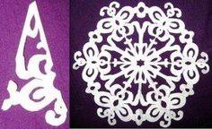 Paper Snowflakes Pattern 18