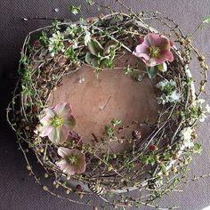 Le plus récent Instantanés couronne Fleurs diy Réflexions Wreaths And Garlands, Fall Wreaths, Door Wreaths, Christmas Wreaths, Christmas Decorations, Easter Wreaths, Deco Floral, Arte Floral, Fleurs Diy