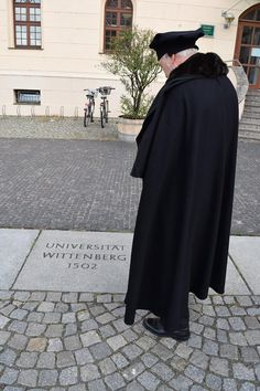 Luther's next stop in Lutherstadt Wittenberg was the University of Wittenberg. You should have seen the look on his face when he discovered that they named it Martin Luther University in 1933! It's pretty amazing when someone names an entire university after you and your good deeds, isn't it? #LutherCountry For more information about LutherCountry, please visit www.visit-luther.com/