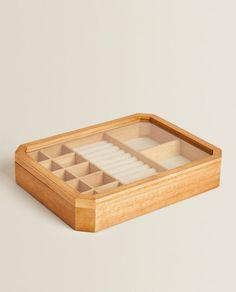 Image 3 du produit BOÎTE À BIJOUX BOIS Zara Home, Wooden Jewelry Boxes, Decoration, Cube, Home Decor, Hobby Lobby Bedroom, Products, Woodwind Instrument, Decor