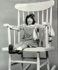 Another Michigan born celebrity...Lily Tomlin from Detroit, Mi.