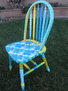 Beauteous Blue Chair