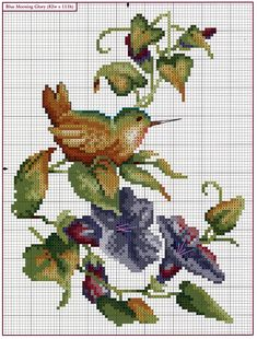 Juste Cross Stitch Patterns (p 582.) | En savoir Crafts est facilisimo.com