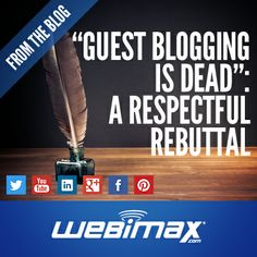 Here's what defines good #guestblogging