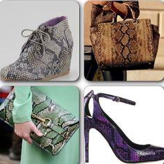 Algunos de los accesorios más IN de #serpiente que puedes combinar con cualquier look esta temporada. Botines #Toms  Cartera @Michael Dussert Kors  Sobre @gucci  Sandalias #brianatwood #moda #fashion #accesorios #trendalert #FW2013  #tendencias #Padgram