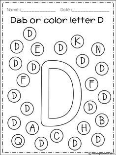 FREE Alphabet Dab (A-Z) FREE Freebies Alphabet Dap A-Z 26 pages. For PreK and Kindergarten. Art History Cooking Dance Drama Graphic Arts Instrumental Music Music Music Composition Visual Arts Vocal Music Other (Arts) Other (Music) Preschool Letters, Preschool Learning Activities, Preschool Printables, Kindergarten Worksheets, Kindergarten Art, Alphabet Worksheets, Alphabet Activities, Alphabet Art, History Classroom