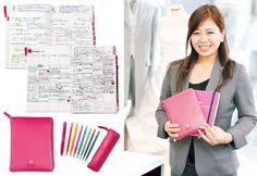 忙しくても、素早く正確な仕事ができる女性たち。時間もタスクも、頭の中も整理する、手帳のスゴワザを一挙大公開します。 Personal Organizer, Hobonichi, Monthly Planner, Life Hacks, Knowledge, Notebook, Notes, Organization, Journal